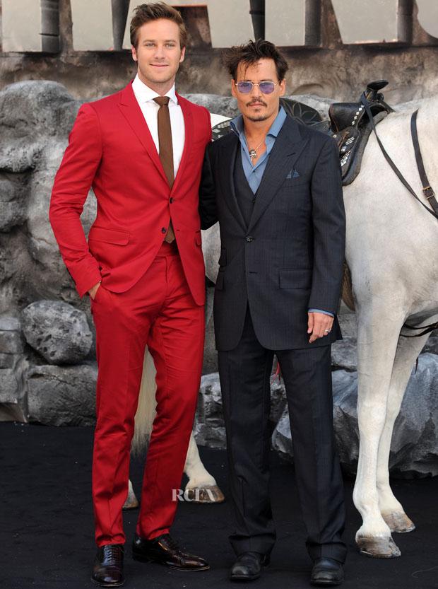 The Lone Ranger - UK Premiere - Red Carpet Arrivals