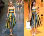Daisy Lowe In Dolce & Gabbana - Veuve Clicquot Gold Cup Final