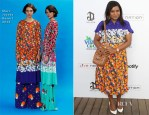 Mindy Kaling In Marc Jacobs - Guy Oseary's July 4th Event
