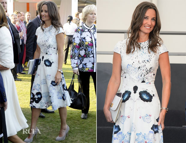 Pippa Middleton In Tabitha Webb - 60th Anniversary of the Queen's Coronation