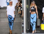 Rihanna In Rag & Bone - Out In Manchester