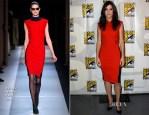Sandra Bullock In Roland Mouret - 'Gravity' Preview: Comic Con 2013