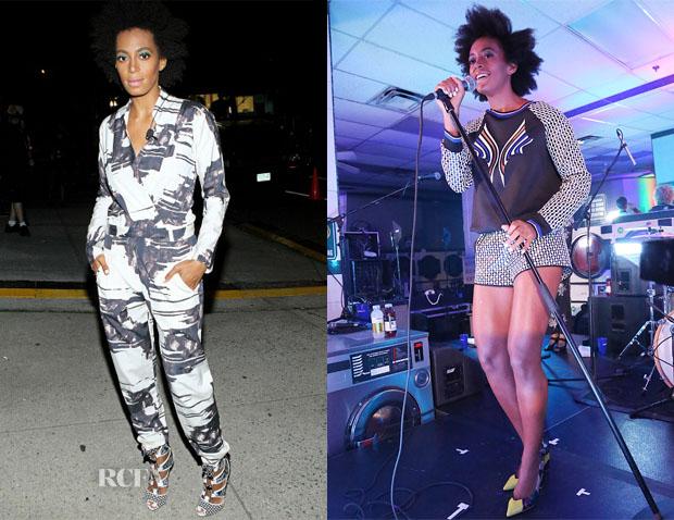 Solange Knowles In Zero + Maria Cornejo & Clover Canyon - The Fader magazine's Uncapped Event