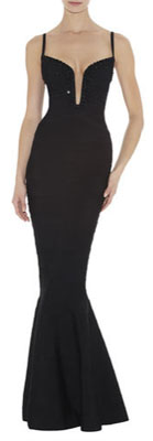 Herve Leger Gown