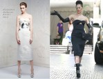 Lady Gaga In Alexander McQueen - Chateau Marmont