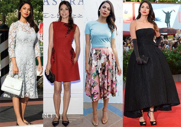 Moran Atias' Venice Film Festival Red Carpet Looks