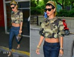 Rihanna In Rihanna for River Island – Out In New York City