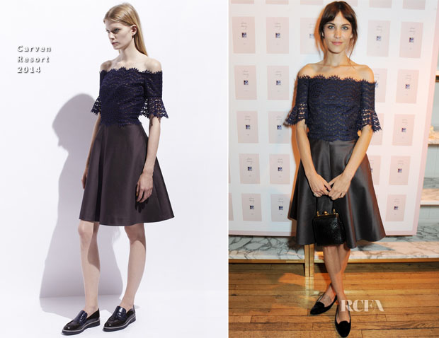 Alexa Chung In Carven - It Book Launch Party