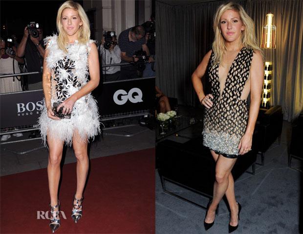 Ellie Goulding In Julien Macdonald - 2013 GQ Men Of The Year Awards
