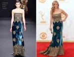Connie Britton In Naeem Khan – 2013 Emmy Awards