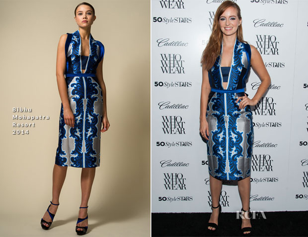 Ahna O'Reilly In Bibhu Mohapatra - Who What Wear And Cadillac's 50 Most Fashionable Women Of 2013