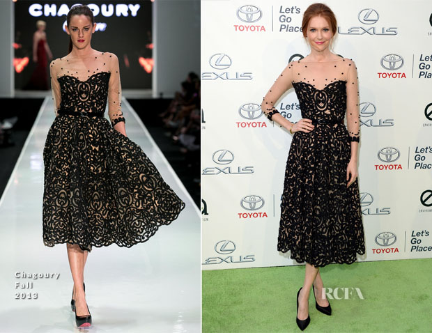 Darby Stanchfield In Chagoury - 2013 Environmental Media Awards