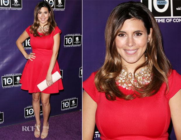 Jamie-Lynn Sigler In Ted Baker - Wounded Warrior Project's Carry Forward Awards