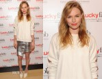 Kate Bosworth In Topshop - Lucky Magazine's Two-Day East Coast FABB: Fashion and Beauty Blog Conference