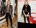 Kate Moss - Rimmel London: '180 Years Of Cool' Photocall & Party