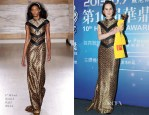 Michelle Dockery In L'Wren Scott - 10th Huading Awards