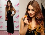 Vanessa Hudgens In Vintage -  ULTA Beauty's 'Donate With a Kiss' Event
