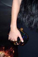 Elizabeth Banks' Alexander McQueen clutch