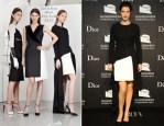 Cobie Smulders In Christian Dior - Guggenheim International Gala