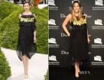 Elizabeth Olsen In Christian Dior Couture - Guggenheim International Gala