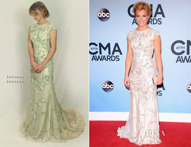 Kimberly Perry In Johanna Johnson - 2013 CMA Awards