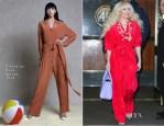 Lady Gaga In Valentina Kova - Out In New York City