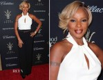 Mary J. Blige In Trina Turk - The Grove's 11th Annual Christmas Tree Lighting Spectacular