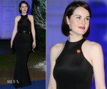 Michelle Dockery In Stella McCartney - Winter Whites Gala In Aid Of Centrepoint