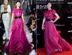 Zhang Jingchu In John Galliano - Cosmo Beauty Awards 2013