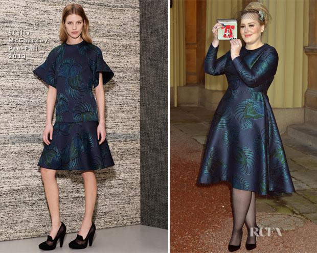 Adele In Stella McCartney - Investitures Ceremony