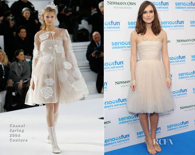 Keira Knightley In Chanel Couture - SeriousFun London Gala 2013