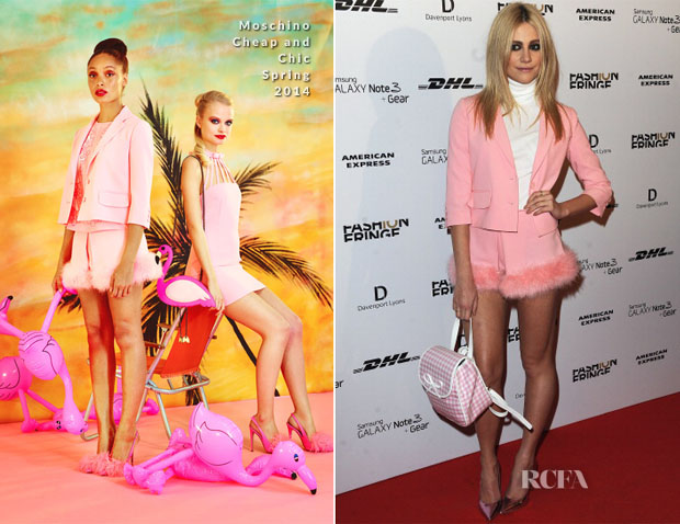 Pixie Lott In Moschino Cheap And Chic - Fashion Fringe 10 Year Anniversary Party