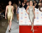 Ashley Roberts In Manning Cartell - National Television Awards 2014