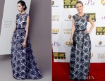 Brie Larson In Escada - 2014 Critics' Choice Movie Awards