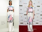 Cate Blanchett In Prabal Gurung - G'Day USA Los Angeles Black Tie Gala