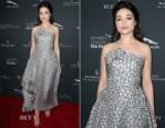 Crystal Reed In Rubin Singer - BAFTA LA 2014 Awards Season Tea Party