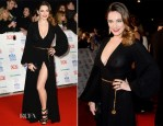 Kelly Brook In Ossie Clark - National Television Awards 2014