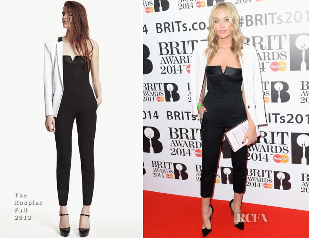 Laura Whitmore In The Kooples - BRIT Awards Nominations