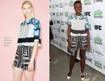 Lupita Nyong'o In Peter Pilotto - 2014 Film Independent Filmmaker Grant And Spirit Awards Nominees Brunch