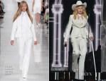Madonna In Ralph Lauren - 2014 Grammy Awards Performance