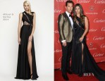Matthew McConaughey In Saint Laurent and Camila Alves In Mikael D - 2014 Palm Springs International Film Festival Awards Gala