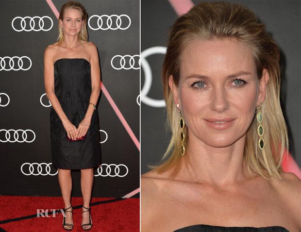 Naomi Watts In Calvin Klein - Audi Celebrates The 2014 Golden Globes Weekend