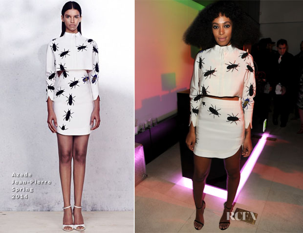 Solange Knowles In Azede Jean-Pierre  - Spotify and Troy Carter Pre-GRAMMY Music + Tech Party