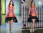 Amber Le Bon In Peter Pilotto - Creative London Party