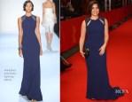 America Ferrera In Badgley Mischka - 'Cesar Chavez' Berlin Film Festival