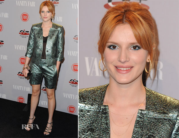 Belle Thorne In Zadig & Voltaire - Vanity Fair and FIAT Celebration Of 'Young Hollywood'