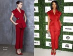 Brandy Norwood In Elena Reva - 7th Annual ESSENCE Black Women In Hollywood Luncheon