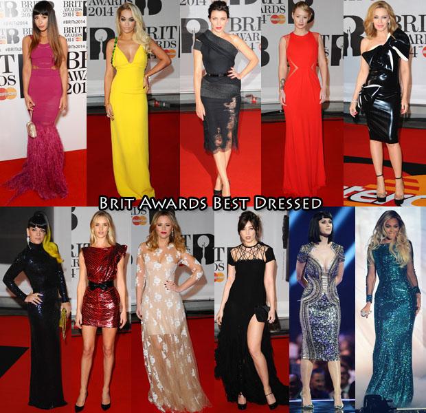 Brit Awards Best Dressed