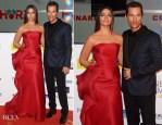 Camila Alves In Rubin Singer and Matthew McConaughey In Saint Laurent - Goldene Kamera 2014