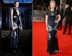 Cate Blanchett In Alexander McQueen - 2014 BAFTAs
